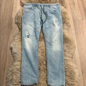 "Diesel ""Krooley"" light blue jogg jeans"